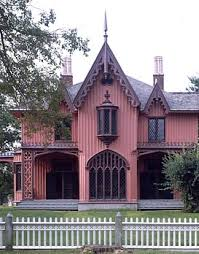 Roseland Cottage in Woodstock, CT, is New England's best-known Gothic  Revival house. Built in 1846 for John Chandler Bowen and designed by Joseph  Wells, ...