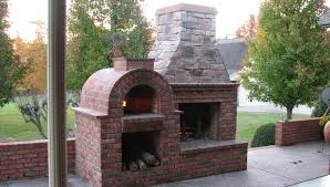 build outdoor fireplace pizza oven