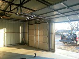 10x8 garage doorInside metal building 108  Cowtown Garage Door Blog