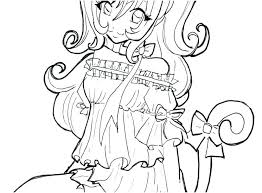 Chibi Coloring Page Anime Coloring Pages For Girls Free Unique