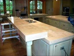 concrete look laminate countertops concrete over laminate cement look s overlay solid surface bathroom options interior