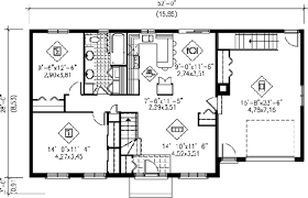 ranch style house plan 2 beds 1 00 baths 1000 sq ft 25 4105