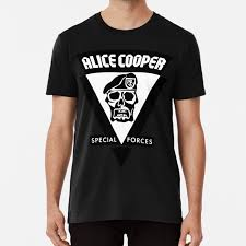1 T Shirt <b>Alice Cooper Special</b> Forces Alice Cooper 1981