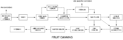 Canning As A Method Preserving Fruits And Vegetables Food