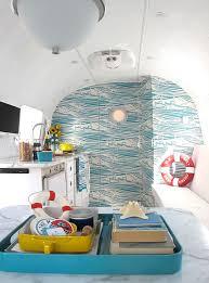 Airstream Interior Design Painting Interesting Inspiration