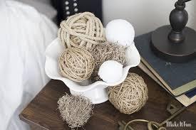 Decorator Balls Impressive Diy Decor Balls New Make It Fun Blog Diy Decorative Ball Vase Filler