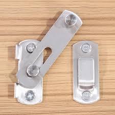 sliding door latch lock. Unique Lock WALFRONT Hasp Latch Stainless Steel Lock Sliding Door Lock For  Window Cabinet Fitting Room On S