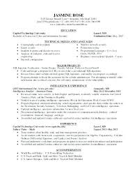 Information Security Analyst Resume Remarkable Resume Information