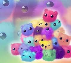Download Cute pompoms animals Wallpaper ...