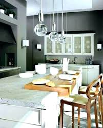 height to hang pendant lights above kitchen island over how high hanging