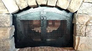 fireplace curtain screens fireplace mesh curtain fireplace mesh curtain screens ed fireplace mesh screen curtain home