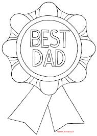 Nieuwe Kleurplaat Van Vaderdag Best Dad Het Is Een Leuke Kleurplaat