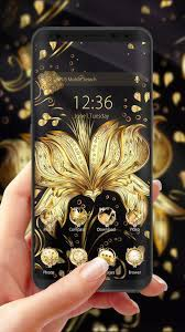 Golden Flower Theme & HD wallpapers for ...