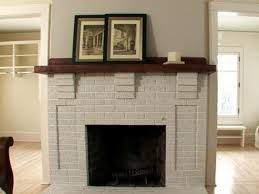 Cleaning Brick Fireplace Interior Fireplace Before And After Cleaning Brick Fireplace Front