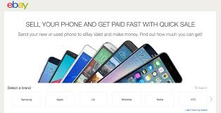 """Used Vending Machines For Sale Ebay Inspiration EBay Launches A Smartphone Tradein Site Called """"Quick Sale"""
