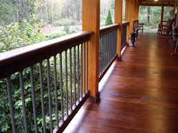 image of good tongue and groove pine porch flooring