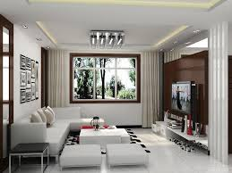 Interior Design For Small Living Room Living Room White Bookcases Brown Ceiling Fans Gray Sofa Black