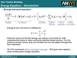 energy equation introduction