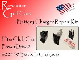 battery charger repair kit, fits club car 48 volt (powerdrive2 club car charger relay bypass at Club Car Battery Charger Diagram