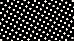 black and white polka dot wallpaper. Simple Polka Wallpaper White Spots Black Polka Dots Seashell 000000 Fff5ee 330 64px  129px Throughout Black And White Polka Dot Wallpaper W