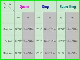 Flat Sheet Size Chart Super King Size Bed Sheet Dimensions King Size Bed Sheets