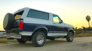 full size bronco 1994 full size ford bronco review youtube