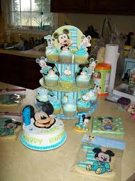 Mickey Mouse 1st Birthday Smash Cake Ideas Cake Image Diyimagesco