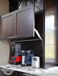 Appliance Garages Kitchen Cabinets Kitchen Kitchen Garage Door Intended For Finest Awesome Kitchen