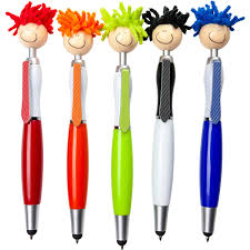 Stylus Pen Promotional Moptopper Screen Cleaner With Stylus Pens With Custom