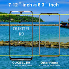 "<b>Oukitel K9 4G Smartphones</b> Unlocked Cell Phones 7.12""18: 9 FHD ..."