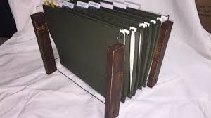 Hanging Files For Filing Cabinets Lifehack How To Build A Simple And Cheap Diy Hanging File Folder