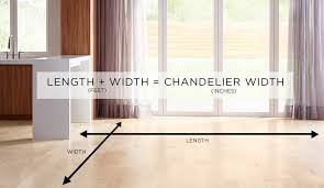 an empty room with wood floors and an equation length plus width equals the chandelier
