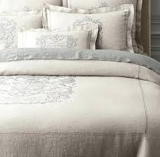 vintage linen duvet covers wentworth crest vintage washed belgian linen duvet cover three colors available but matteo
