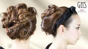 結婚式髪型お呼ばれ アップ 美しい髪