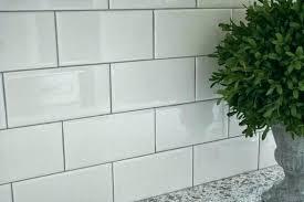 striking white tiles grey grout white tile with gray grout gray grout with white subway tile