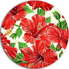 hibiscus flowers design art seamless hibiscus flowers pattern ultra glossy floral