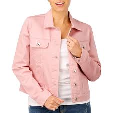 the 1964 denim company women s hb jacket pink