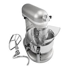 T KitchenAid KP26M1XNP 10 Speed Stand Mixer W 6 Qt Stainless Bowl U0026  Accessories Nickel Pearl