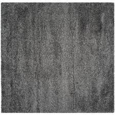 safavieh california dark gray 7 ft x 7 ft square area rug