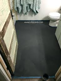 painting a bathroom floor super affordable bathroom floor makeover solution how to chalk paint tile floors painting a bathroom floor bathroom makeover how