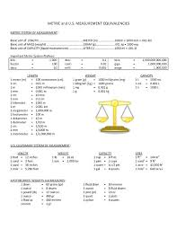 11 12 Metric Measurements Table Lasweetvida Com