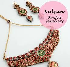 indian bridal necklace earrings set designs kalyan jewellers