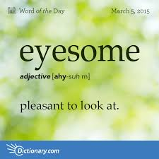 Todays Word Of The Day Is Eyesome Learn Its Definition
