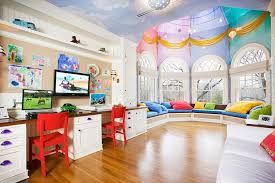 Stylish Decoration Playroom Paint Colors Bold Ideas Kids Playroom