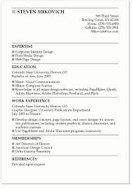 Job Resume Examples For College Students Resume Template Easy