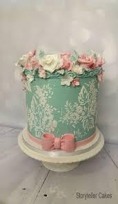 Floral Birthday Cake Adult Birthday Cakes Ladies Storyteller Cakes