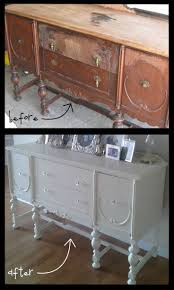 diy furniture refinishing projects. Buffet Before \u0026 After: How To Score And Refinish A Craigslist Furniture Piece Diy Refinishing Projects S