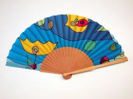 indian hand fan clipart. handpainted silk hand fan-wedding fan- fan-bridesmaids- spanish indian fan clipart