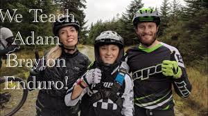 We Teach ADAM BRAYTON How To Race A Welsh Enduro! - YouTube