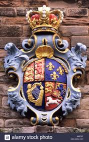 berwick barracks arms of king george st northumberland england  berwick barracks arms of king george 1st northumberland england uk history english royalty royal coat of arms heraldry